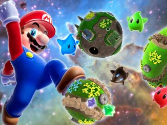 Super Mario Galaxy uses button prompts on Nvidia Shield