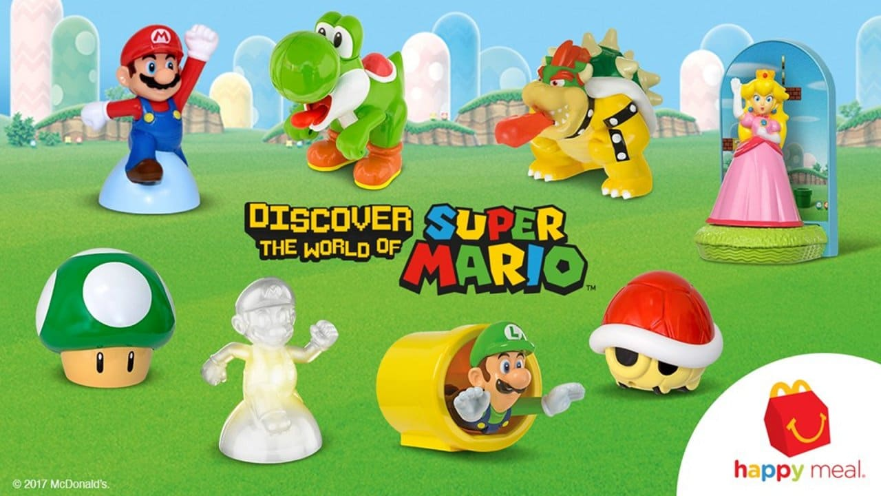 Super Mario Happy Meal toys back this summer?
