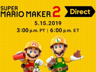 Super Mario Maker 2 Direct morgen!