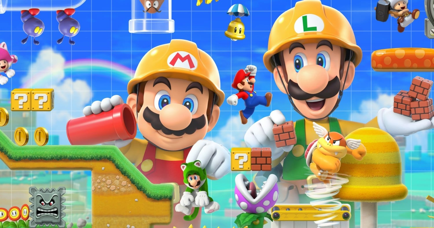 Super Mario Maker 2 – June 14th?