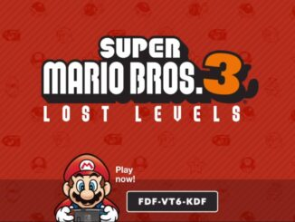 Super Mario Maker 2 Player – Lost Levels geïnspireerd door Super Mario Bros. 3