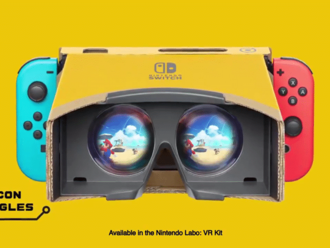 News - Super Mario Odyssey & Zelda: Breath Of The Wild + Labo Toy-Con VR