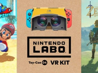 Super Mario Odyssey & Zelda: Breath Of The Wild's Labo VR Updates beschikbaar