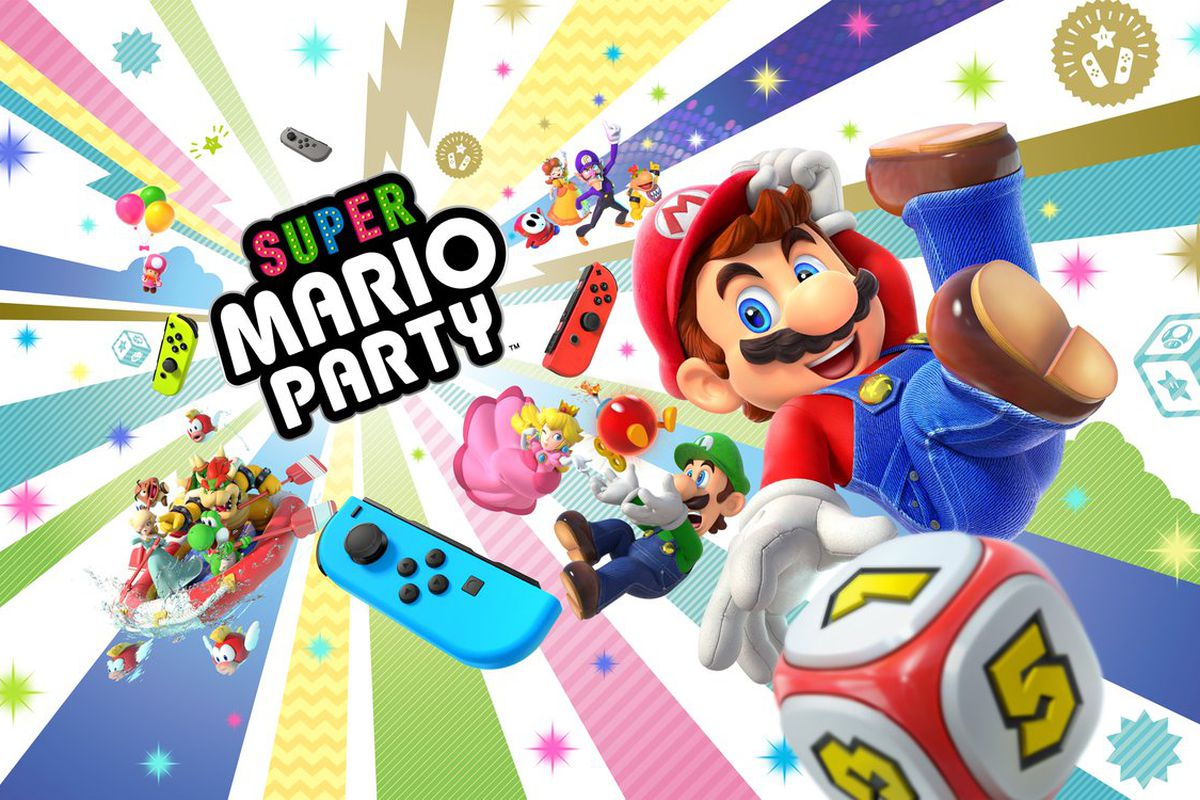 Super Mario Party aangekondigd