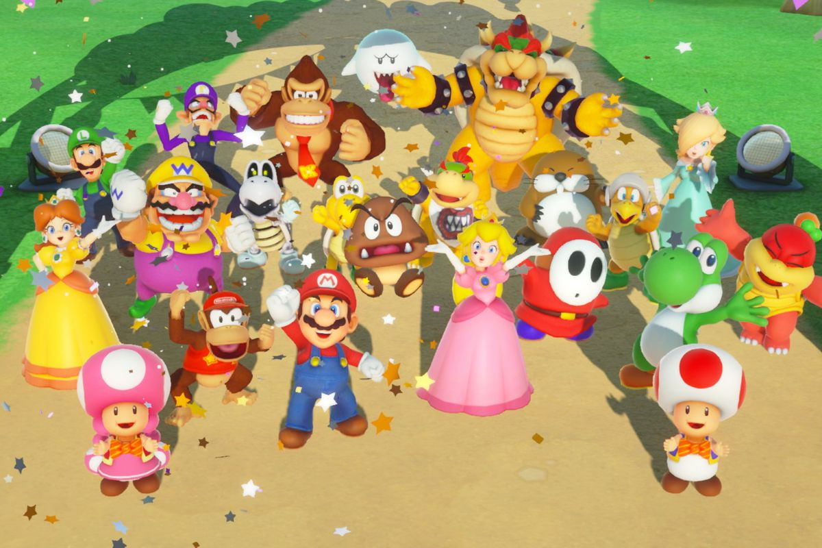 Nieuwe Launch Trailer Super Mario Party