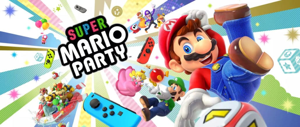 Super Mario Party unused board and DLC traces discovered