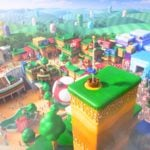 Super Nintendo World construction started