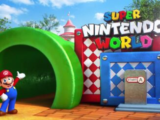 Super Nintendo World's opening date to be announced this fall