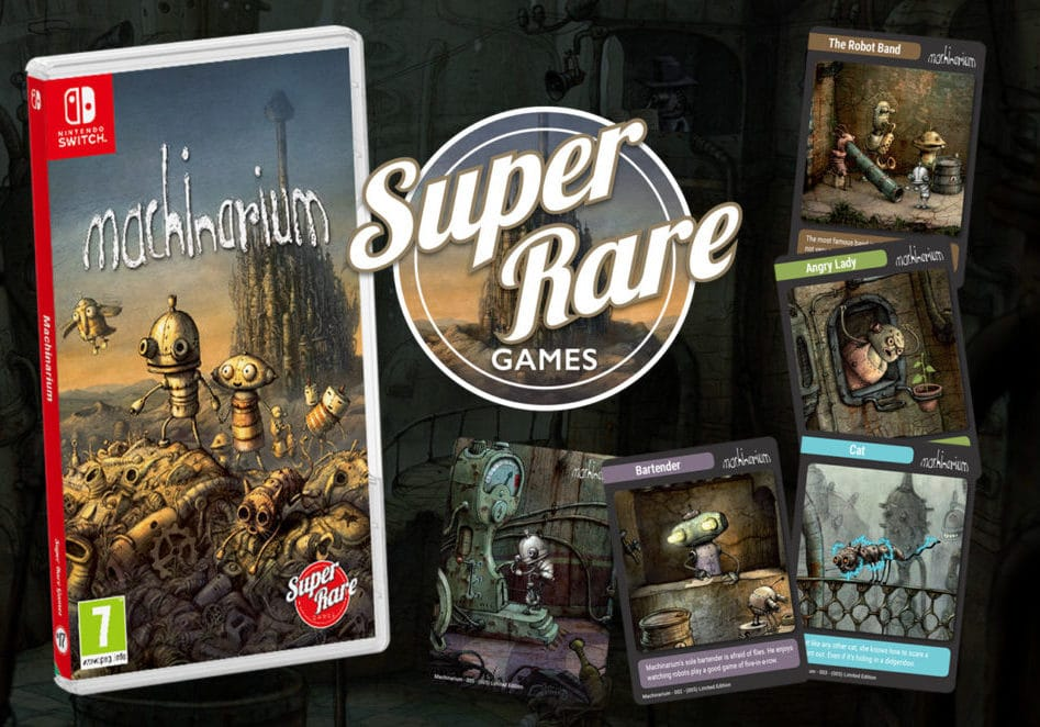 Super Rare Games – Machinarium fysieke release