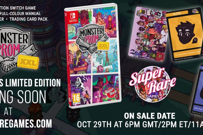 Nieuws - Super Rare Games – Monster Prom XXL