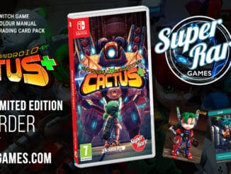 Super Rare Games – Next Physical Release – Assault Android Cactus+
