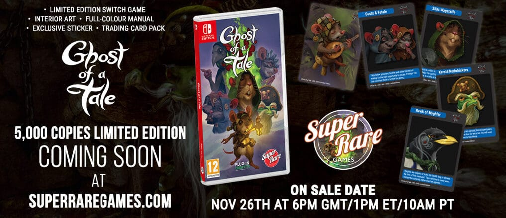 Super Rare Games - Next Physical Release - Ghost Of A Tale