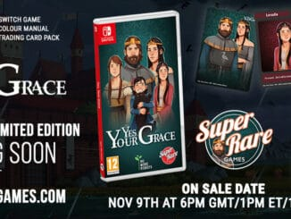 Super Rare Games – Volgende fysieke release – Yes, Your Grace