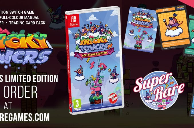 Nieuws - Super Rare Games – Volgende fysieke release – Tricky Towers: Collector's Edition