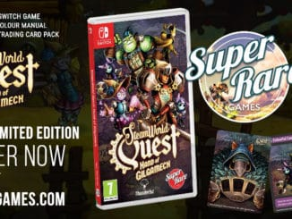Nieuws - Super Rare Games – SteamWorld Quest – Pre-Orders beginnen 7 November