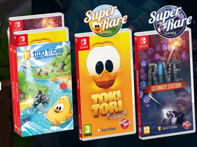 Nieuws - Super Rare Games – Two Tribes 2001-2019 Mega Pack