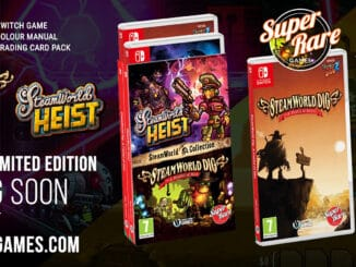 Super Rare Games' Next Physical Releases; SteamWorld Dig and SteamWorld Heist