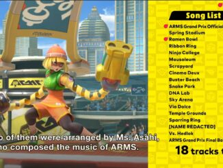 Super Smash Bros. Ultimate – ARMS – 18 Muziek tracks