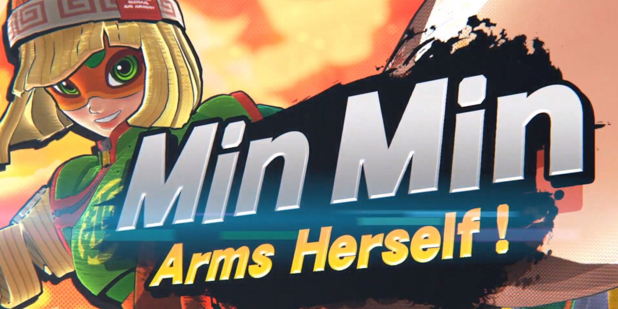 Super Smash Bros Ultimate ARMS vechter is Min Min, komt op 29 Juni