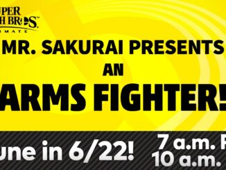 Super Smash Bros. Ultimate – ARMS Fighter reveal on June 22nd