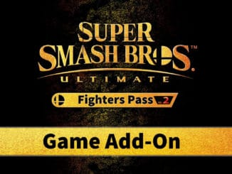 Super Smash Bros Ultimate Fighter's Pass Vol.2 – Reminder – Now available
