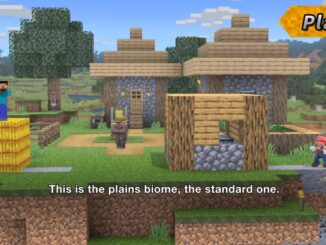 Super Smash Bros. Ultimate – Minecraft World Stage Detailed