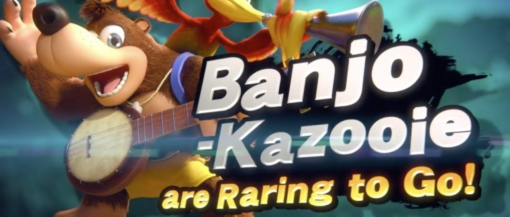 Super Smash Bros. Ultimate – Banjo-Kazooie retro reveal trailer