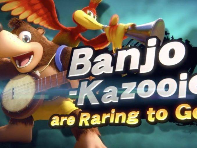 News - Super Smash Bros. Ultimate – Banjo-Kazooie retro reveal trailer makeover