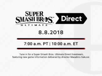 Super Smash Bros. Ultimate Direct – deze woensdag