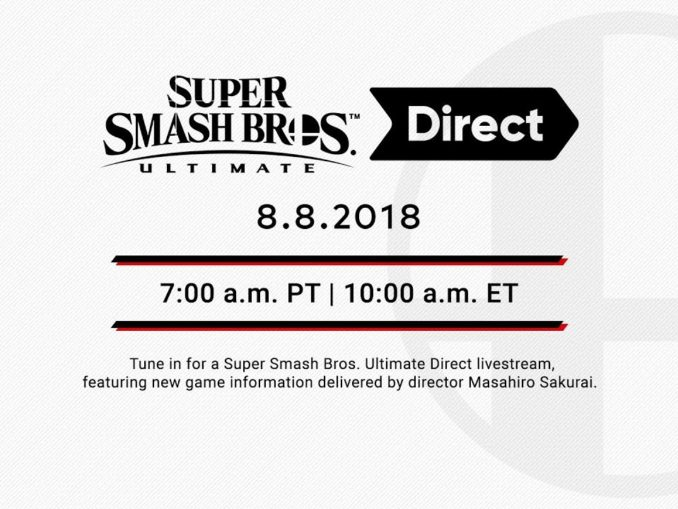News - Super Smash Bros. Ultimate Direct – deze woensdag