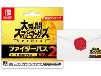 Super Smash Bros. Ultimate Fighters Pass 2 – Download Card 23 Maart 2020 (Japan)
