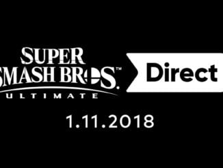 Super Smash Bros. Ultimate Nintendo Direct 1 november