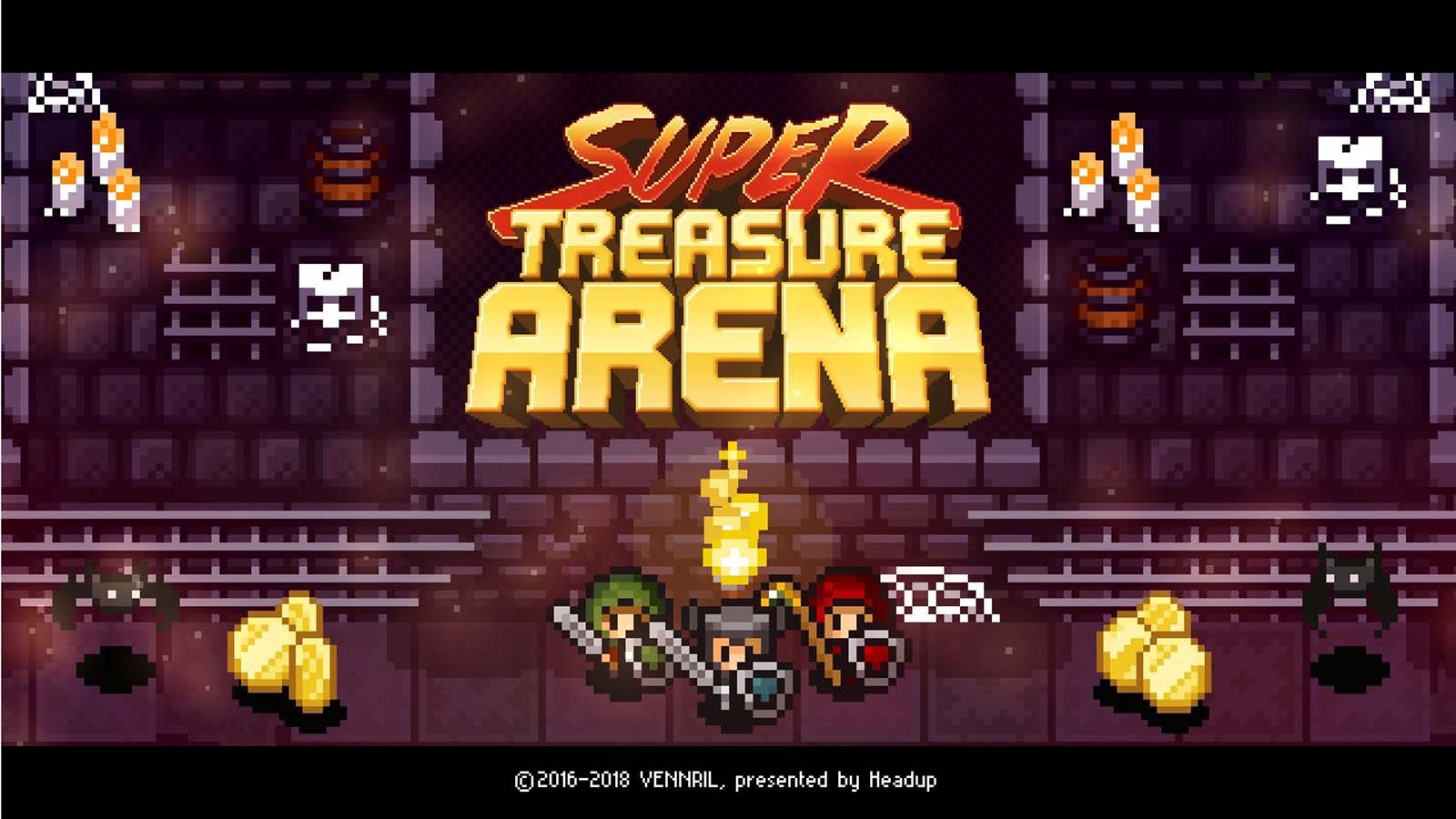 Super Treasure Arena out now