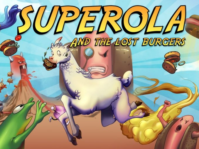 Release - Superola and the Lost Burgers