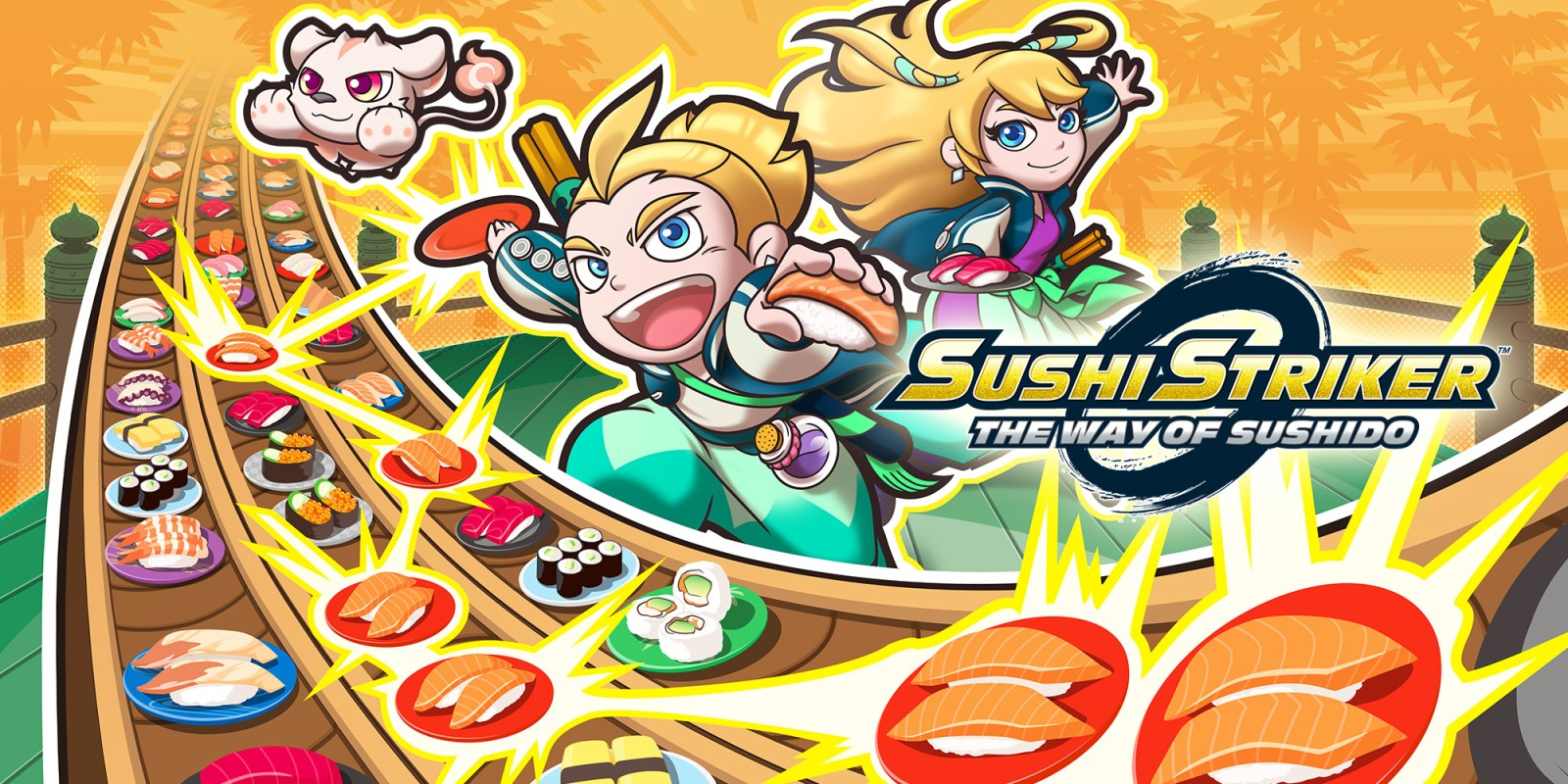 Sushi Striker: The Way of Sushido demo available