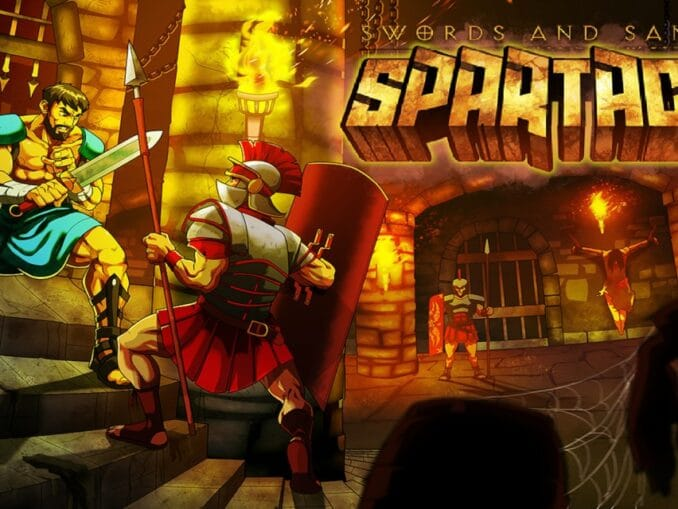 Release - Swords and Sandals: Spartacus