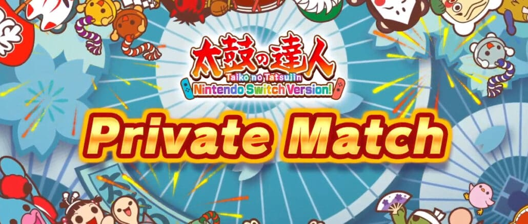 Taiko No Tatsujin: Drum 'n' Fun's Private Match gratis Update trailer