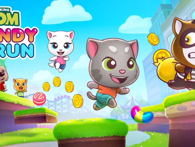 Release - Talking Tom Candy Run