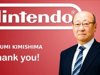 Tatsumi Kimishima is stopping as president of Nintendo