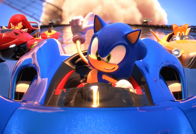 Nieuws - Team Sonic Racing – Speed Up Trailer