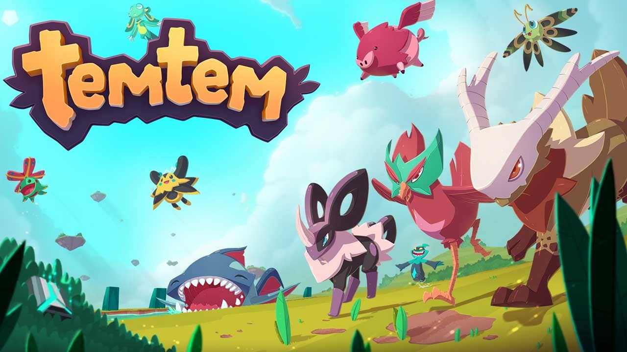 Temtem – Anime-Style Trailer, Launches 2021