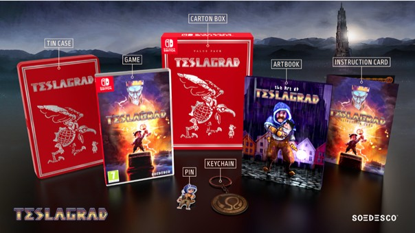 Teslagrad Value Pack komt op 27 September