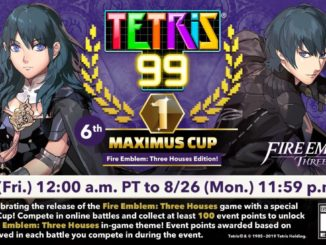 Tetris 99 – 6de MAXIMUS CUP viert Fire Emblem: Three Houses