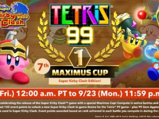 Tetris 99 – 7th Maximus Cup announced