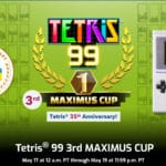 Tetris 99 Big Block DLC and 3rd MAXIMUS CUP