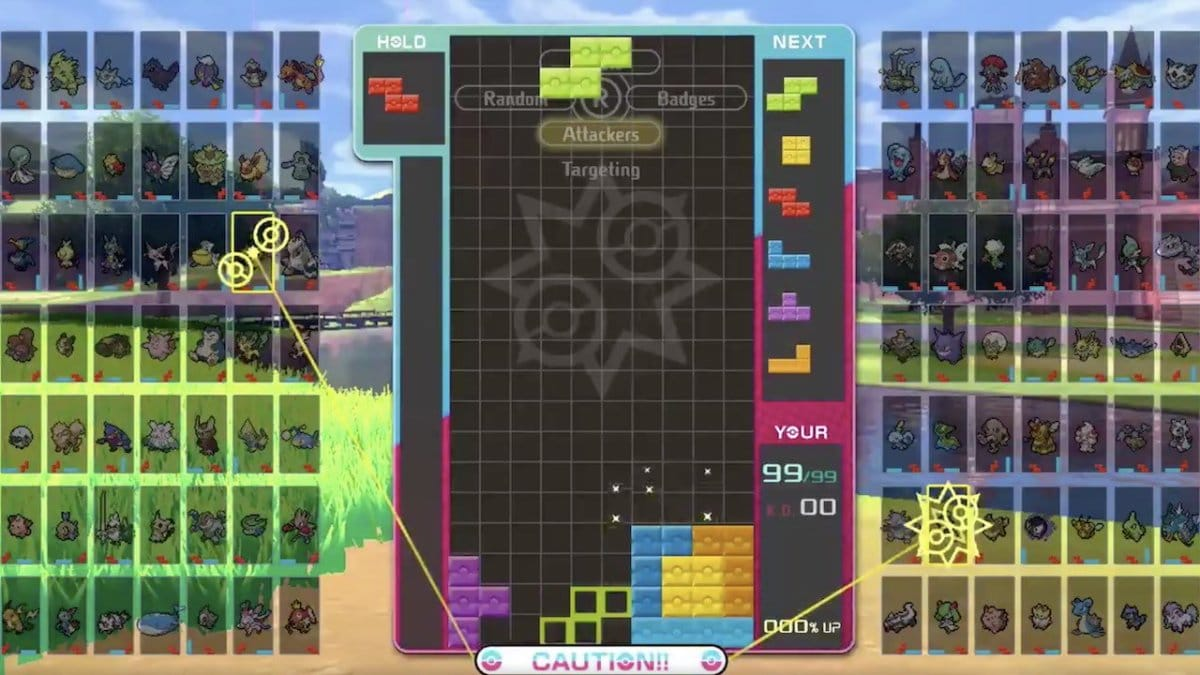 Tetris 99 – Pokemon Sword / Shield Maximus Cup begint 7 November
