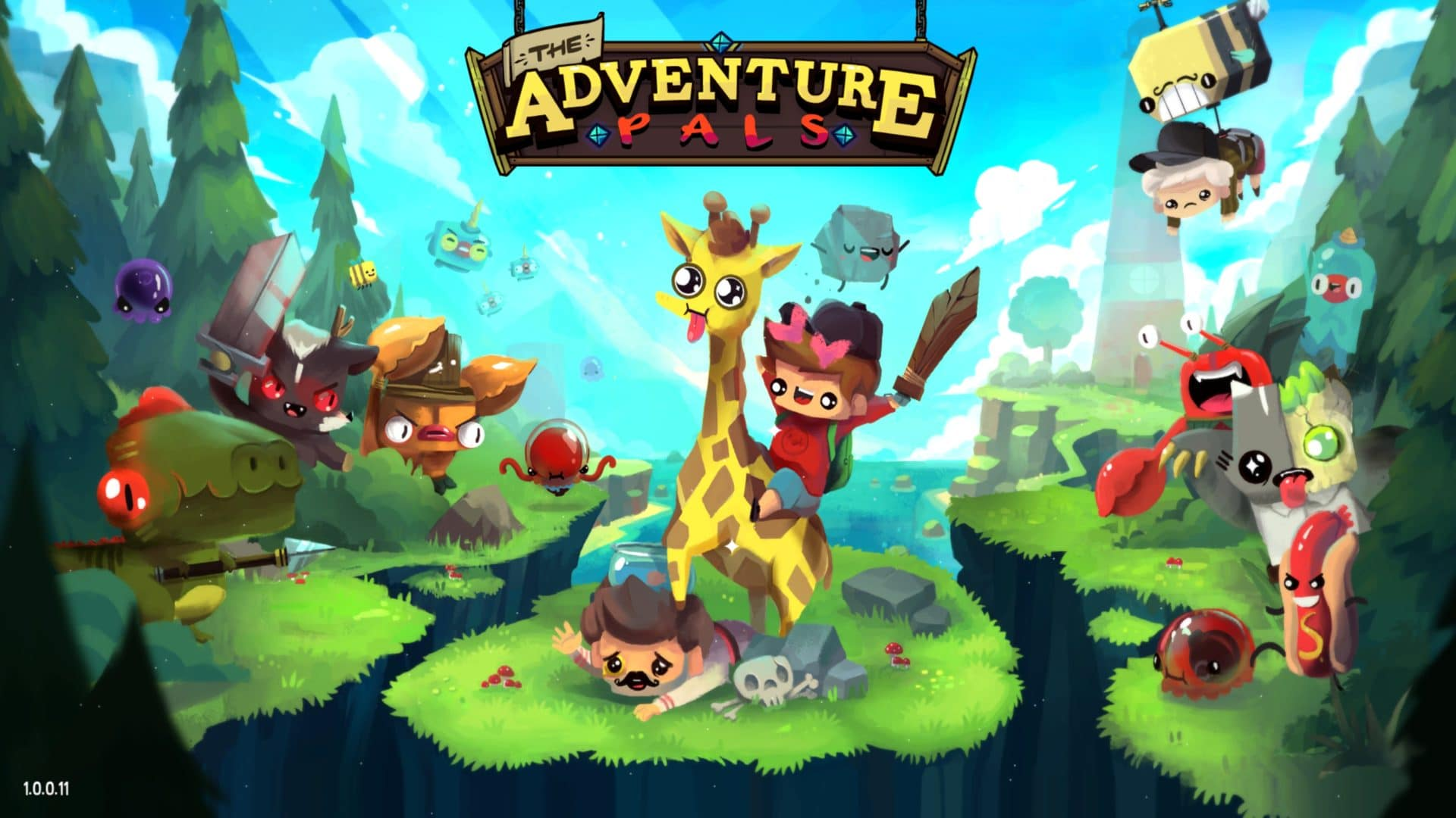 The Adventure Pals fysieke versie @ Super Rare Games