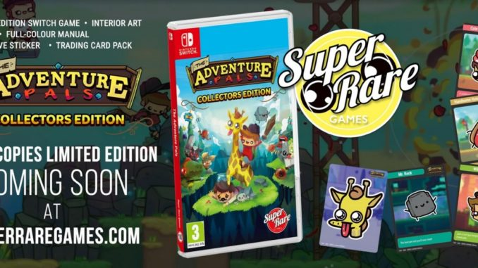 The Adventure Pals physical version