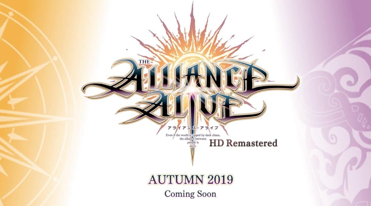 The Alliance Alive HD Remastered deze herfst
