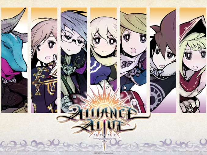 Nieuws - The Alliance Alive HD Remastered – Unlikely Heroes Character Trailer